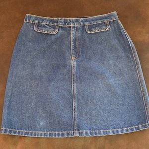 Vintage Tommy Hilfiger Jean Denim Mini Skirt 4